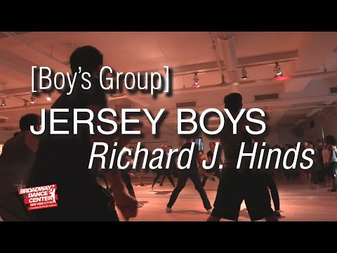 Jersey Boys - Who Loves You [BOYS] Choreography by Richard J. Hinds | #bdcnyc