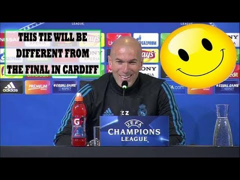 ZINEDINE ZIDANE FULL PRESS CONFERENCE: [THIS TIE WILL BE DIFFERENT FROM THE FINAL IN CARDIFF]!