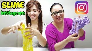 Video How to make instagram slime and slime challenge 💪 MP3, 3GP, MP4, WEBM, AVI, FLV November 2017