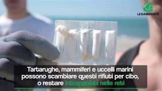 I rifiuti in mare e sulle coste, i dati sconcertanti di Goletta Verde