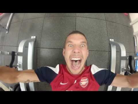 Arsenal - Here are all the funny moments from the Arsenal Tour 2013, including: Poldi's special room on the plane Per's famous bird dance Olivier's sumo impression Ant...