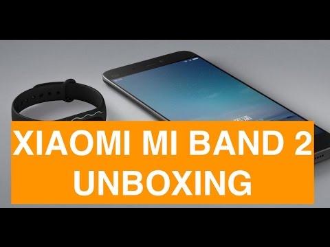 Unboxing Xiaomi Mi Band 2 e primo collegamento