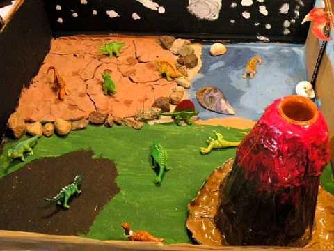 Dinosaur Shoebox Diorama