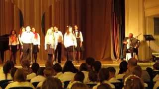 Festival horova Ruska pesma Beograd 2015 mix