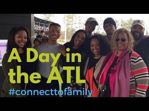 Family Fun in ATLANTA -TOPGOLF AND NEW ATLANTA STADIUM