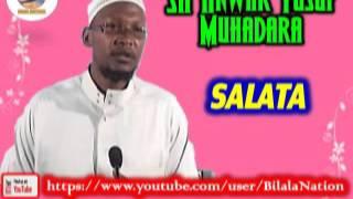 Sh Anwar  Yusuf Muhadara Salata