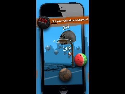 Ipod Touch - Take your game to the streets in this 3 point basketball shooter. Moneyball features 3D graphics and physics to deliver an authentic gaming experience. Pract...