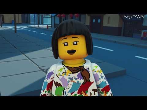 Nyas målning - LEGO NINJAGO - Wus teer Avsnitt 17