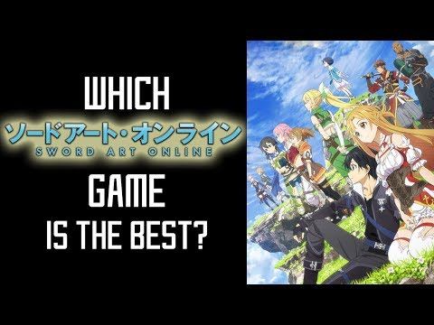 Which Sword Art Online Game Should You Get First?