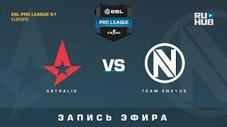 Astralis vs Team EnVyUs - ESL Pro League S7 EU - de_train_part2 [ceh9, Enkanis]
