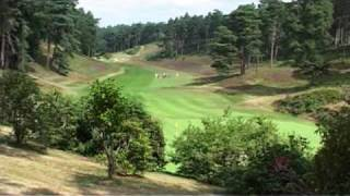 Hindhead United Kingdom  city photos : Peter Alliss on Hindhead Golf Course, Surrey, England