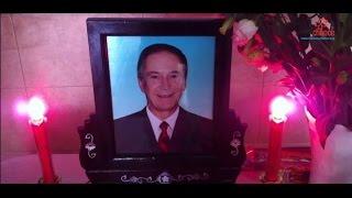 La cérémonie d'Adieu à Laurent Rebeaud