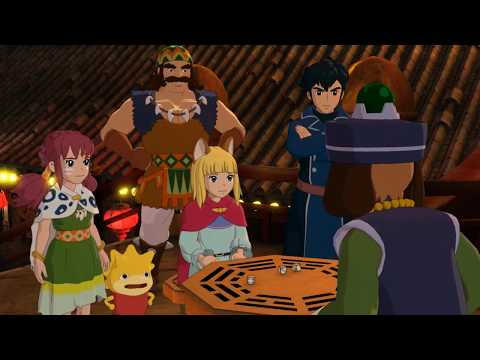 Ni No Kuni II: Revenant Kingdom - Busting Cheaters in Goldpaw and Heading Towards the Auld Woods