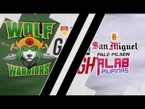Wolf Warriors v San Miguel Alab Pilipinas | Highlights | 2018-2019 ASEAN Basketball League