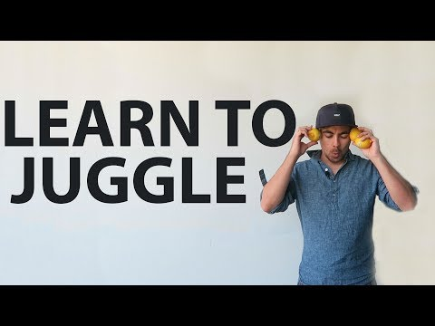 Guy Teaches Himself To Juggle In 3 Hours and 44