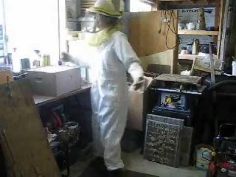Avoid Bee Stings – Bee Suit.wmv