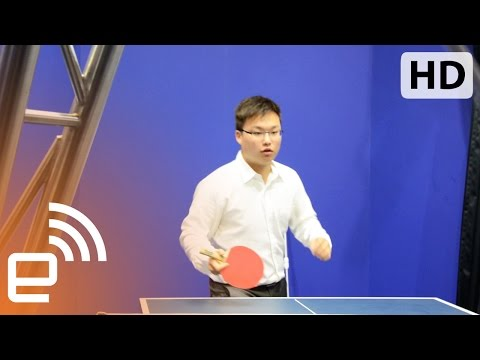 Rematch: playing ping pong with a robot | Engadget