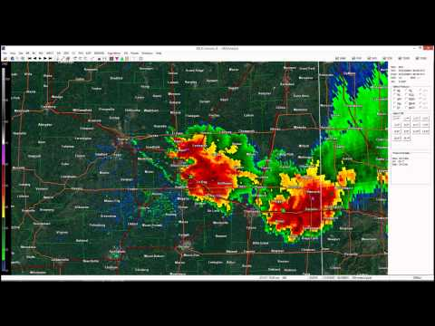 7/13/2004 Roanoke, IL F4 Tornado -  Radar Time Lapse