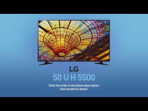 LG 50UH5500 4K UHD Smart LED TV - 50