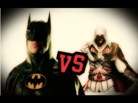 ASSASSIN'S CREED vs BATMAN - davidekyo -