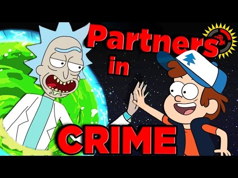Film Theory: The Rick and Morty / Gravity Falls CROSSOVER Conspiracy!