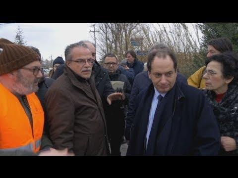 Στα Χανιά ο υπουργός Υποδομών, Χρήστος Σπίρτζης.
