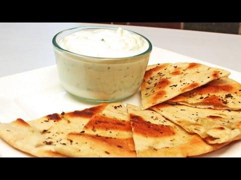 Simple, Easy Tzatziki Greek Dip Recipe