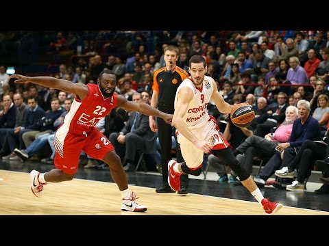 Highlights: RS Round 4, EA7 Milan 68-77 Cedevita Zagreb