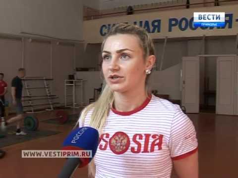 Приморская тяжелоатлетка Светлана Гаджиева стала двукратной чемпионкой России