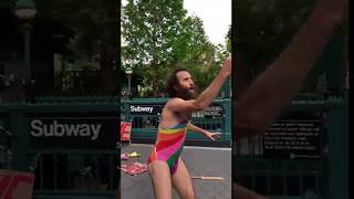 """A guy named of Matthew Silver, was in NYC doing his thing until they gave him a fidget spinner """"Meanwhile in New York"""""""