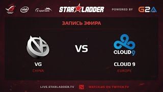 VG vs Cloud9, game 1