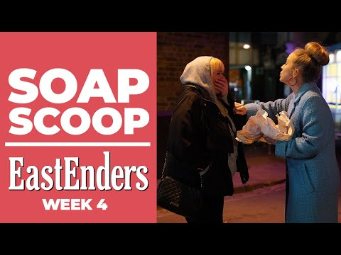 EastEnders: Linda lets the truth about Keanu slip / the Carters are in trouble (Soap Scoop Week 4)