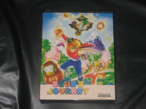blue's journey neo-geo test