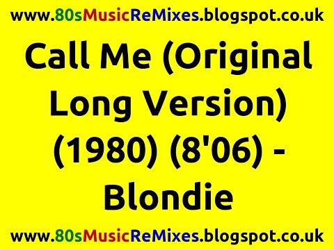 Call Me (Original Long Version) - Blondie | Giorgio Moroder | 80s Club Music | 80s Pop Music Hits