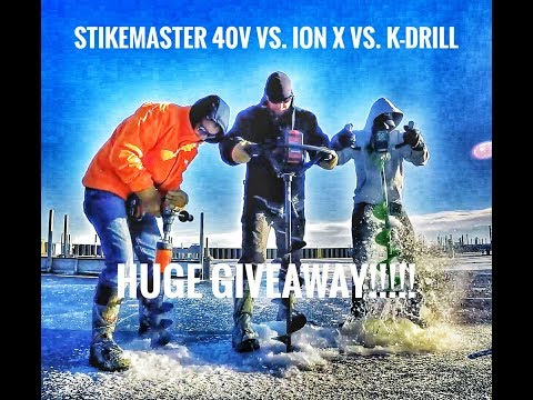 Ion X vs. Strikemaster Lithium 40volt - Which one is faster?!