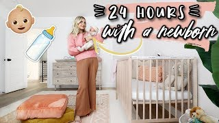 24 HOURS WITH A NEWBORN! | Aspyn Ovard by Aspyn Ovard