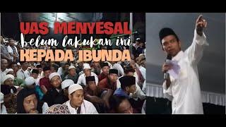 Video Sambil Menangis, Ust Somad Sesali kematian Ibunda karena belum Lakukan ini !? MP3, 3GP, MP4, WEBM, AVI, FLV Maret 2019