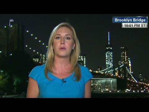 Bridge - Poppy Harlow investigates the mysterious presence of white flags, in place of American flags, atop the Brooklyn Bridge. More from CNN at http://www.cnn.com/ ...