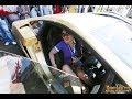 Intip paha Syahrini di mobil Lamborghini Miliknya