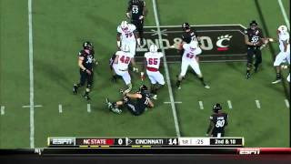 Audie Cole vs Cincinnati 2011