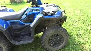 5. ATV REVIEW: Polaris sportsman 850