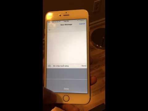 Nhắn tin bằng giọng nói trên iphone