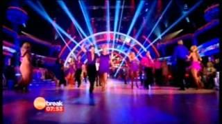 Nicky Byrne & co group dance clip Daybreak 14-09-12