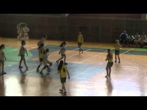 Andebol: CA Leça (B) - Macieira AC inf.fem. Maio 2015