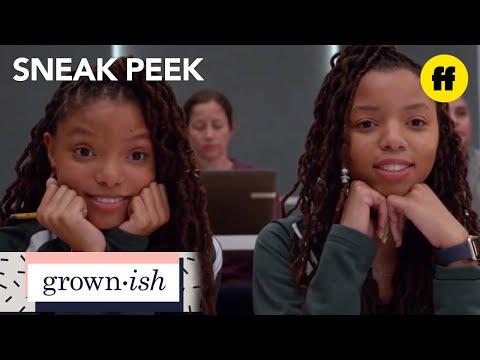 grown-ish | season 1, episode 1 sneak peek: meet jazlyn & skyler | freeform