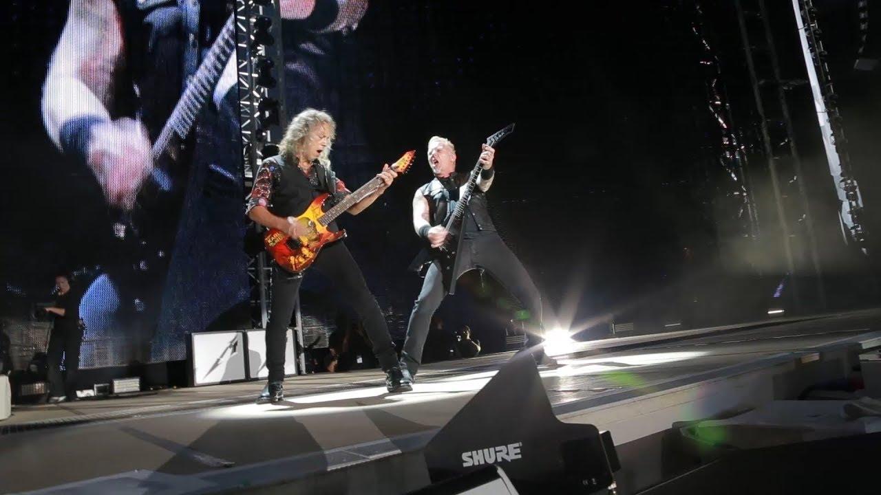 Metallica: WorldWired Rig Rundown