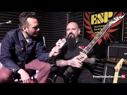 NAMM '15 - ESP Guitars V 407 and M 1000 Special Edition Demos