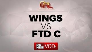 FTD.C vs Wings, game 1