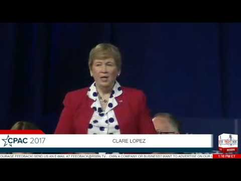 Claire Lopez FULL SPEECH- CPAC 2017
