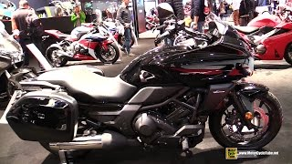 9. 2016 Honda CTX700 DCT - Walkaround - 2015 EICMA Milan